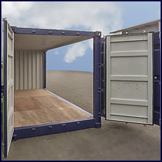 Container Open Side - offen
